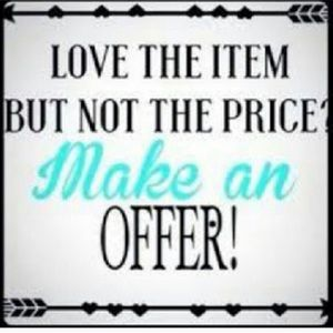 🛍Love The Item But Not The Price Make An Offer🛍